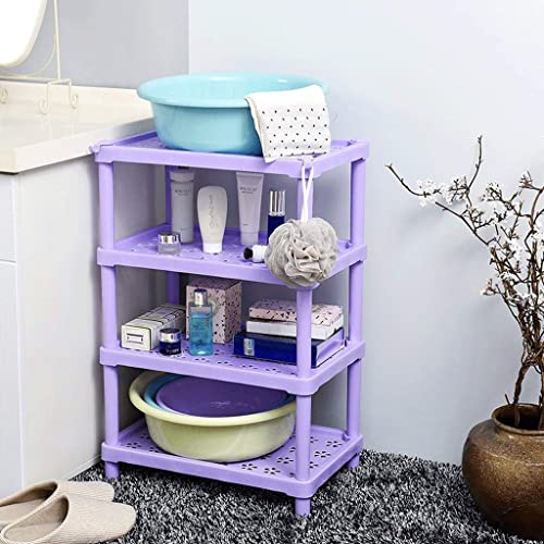 CHX Badezimmer-Regal-Badezimmer-Toiletten-Plastik WC-Speicher-Regal-Badezimmer-Waschbecken-Stand-Speicher-Regal CHXSF
