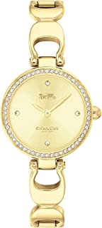 Coach WOMEN'S GOLD DIAL IONIC THIN GOLD PLATED 1 STEEL WATCH - 14503171
