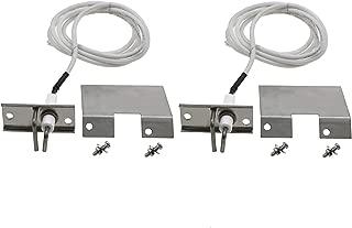 Hisencn 2PK Grill Igniters KIT Ceramic Electrode Replacement for Fits Altima AGR30P, AGR30PF, AGR48P, AGR48PF; Sonoma 949725CGR27, 949725CGR27LP, 949725CGR30, 949725CGR30LP; Tuscany SGR30MLP Gas Grill