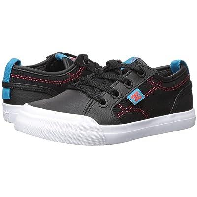 DC Kids Evan SE (Little Kid/Big Kid) (Black/Red/Blue) Boys Shoes