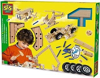 SES Creative Carpentry 95 Piece Playset
