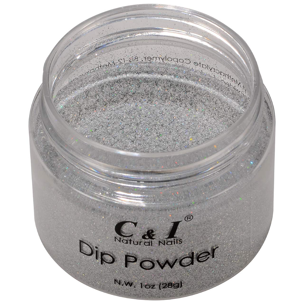 C I Dipping Powder Color Popular shop is the lowest price challenge No.010 Silver Col Translated Shine Pearl Glitter
