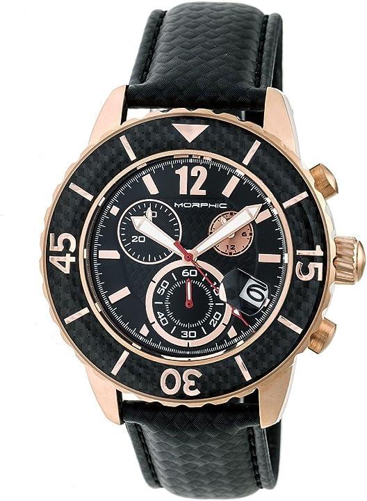 Orologio morphic m51 series mph5103 - cronografo in pelle