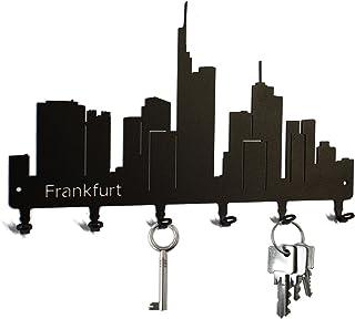 Schlüsselbrett / Hakenleiste * Skyline Frankfurt * - Schlü