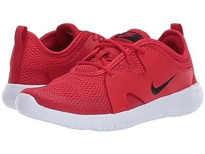 Nike Kids Flex Contact 3 (Big Kid) (Bright Crimson/Black/Vast Grey/White) Kids Shoes