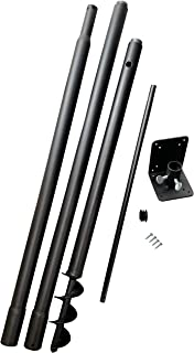 Universal Pole Kit, Great for bird houses and bird