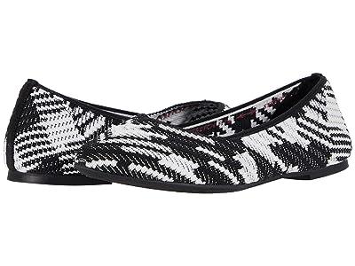 SKECHERS Cleo Blurry (Black/White) Women