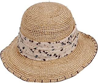 Hats Hats Female Beach Suntan Straw Shading Hat Workers Woven Straw Hats Fashion (Color : Beige)