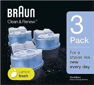 Braun Clean & Renew Refill Cartridges CCR - 3 pack