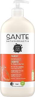 SANTE Naturkosmetik Feuchtigkeits Shampoo Bio-Mango & Aloe Vera, Vorteilsgröße mit Pumpspender, Spendet Feuchtigkeit, Glänzendes Haar, Natürliche Haarpflege für trockenes Haar, Vegan, 950ml