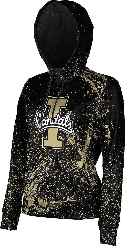 University of Idaho Girls' Pullover Hoodie, School Spirit Sweatshirt (Splatter)