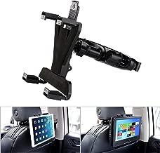 YOOHOO Tablet Car Headrest Mount, Universal 9 inch DVD Player Holder for Car Backseat Seat Mount,360° Rotating Adjustable,for All 7