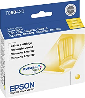Epson T098120 OEM Ink - (98) Artisan 700 710 725 730 800 810 835 837 Claria Hi-Definition High Capacity Black Ink (550 Yield)