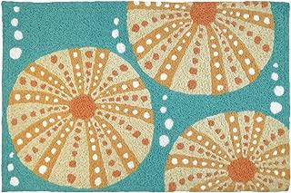 Jellybean Sea Urchins Coastal Indoor/Outdoor Machine Washable 21