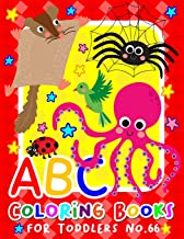 ABC Coloring Books for Toddlers No.66: abc pre k workbook, KIDS 2-4, abc book, abc kids, abc preschool workbook, Alphabet ...