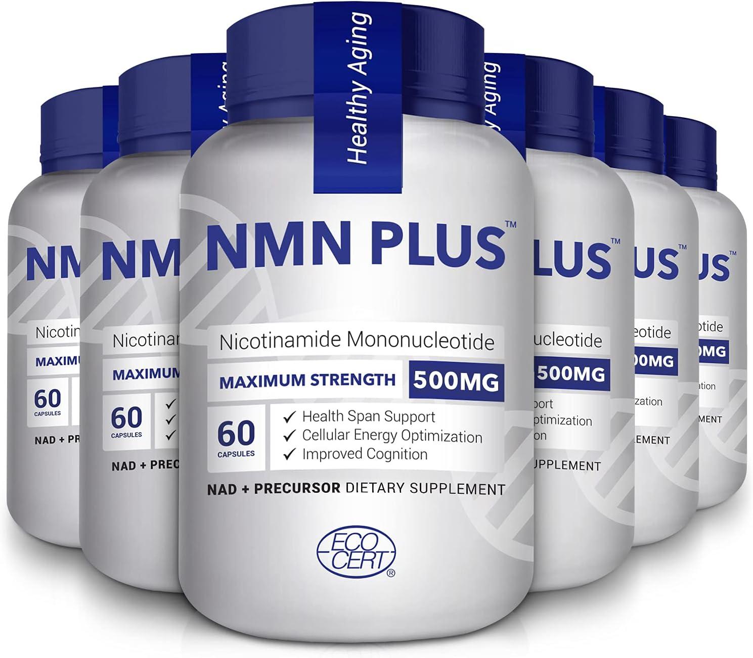 Maximum 男女兼用 Strength NMN 即納最大半額 Capsules 500mg Naturally NAD+ Boost Level