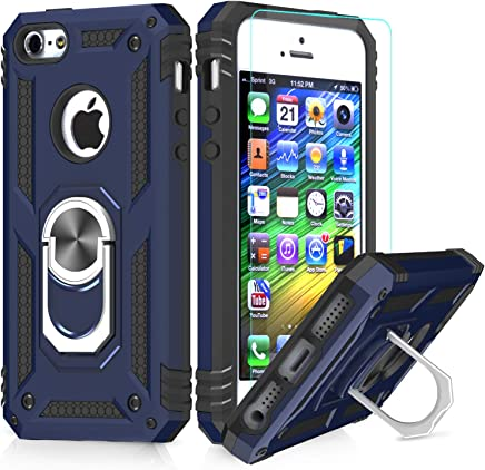 b829e2a25a3 LeYi Funda iPhone 6 / 6S / 7/8 Armor Carcasa con 360 Anillo iman