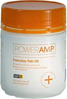 PowerAmp Everyday Fish Oil | 360mg EPA & 240mg DHA | Informed-Sport Accredited