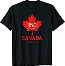 Canada 150 Years Old in 2017 TShirt Red Maple Leaf Tee