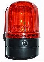 flashing red light