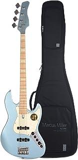 $699 Get Sire Marcus Miller V7 Swamp Ash 4-String Lake Placid Blue (2nd Gen) and Sire Gig Bag Bundle