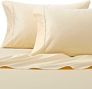 Wamsutta 625-Thread Count PimaCott King Sheet Set in Yellow