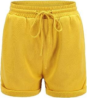 Energy Womens Drawstring Holiday Elastic Waist Highwaist Shorts Pants
