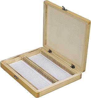 Microscope Slide Wooden Box Holding 100 Piece Slides