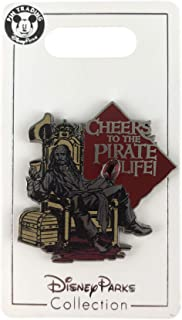 Disney Pin - Pirates of the Caribbean - Captain Jack Sparrow - Cheers to the Pirate Life