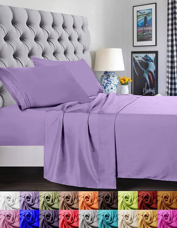 Elegant Comfort 1500 Thread Count Luxury Egyptian Quality Super Soft Bed Sheet Set