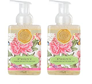 Michel Design Works Foaming Hand Soap, 17.8-Ounce, Peony Bundle (2 Pack)