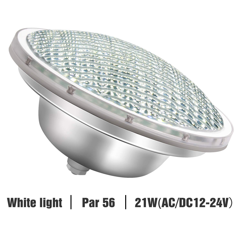 Roleadro 21w Blanco Par56 Led para Piscina Iluminacion Light Pool ...