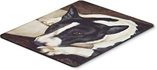 Caroline's Treasures AMB1030MP Bull Terrier by Tanya and Craig Amberson Mouse Pad, Hot Pad or Trivet, Large, Multicolor