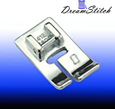 #4130971-45 ZIGZAGSTORM 4130971-45 Clear Piping Presser Foot for Husqvarna Viking Group 1,2,3,4,5,6,7,8,D Sewing Machine