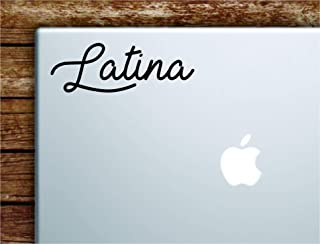 Latina Laptop Apple MacBook Car Quote Wall Decal Sticker Art Vinyl Cute Inspirational Teen Funny Girls Woman Spanish Mexican