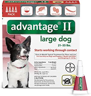 ADVANTAGE II FOR LARGE DOGS by Advantage