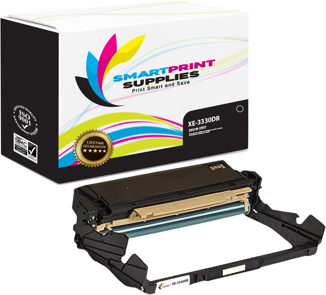 Smart Print Supplies Xerox 3330DR 101R00555 Black Compatible Drum Unit Replacement for Xerox Phaser 3330 Workcentre 3335 3345 Printers (30,000 Pages)