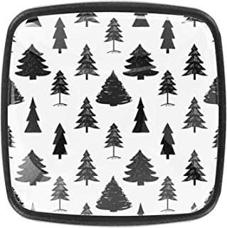 Forêt de sapins foncés 4 PCS Tiroir de Porte Poignée, Bouton de Meubles, Boutons de Tiroir, Boutons de Porte, Poignées de ...