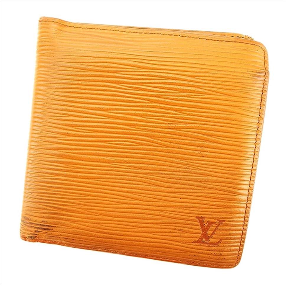 特異な正確上に築きます(ルイ ヴィトン) Louis Vuitton 二つ折り 財布 ブラウン ポルトビエカルトクレディモネ エピ レディース メンズ 可 中古 T2836
