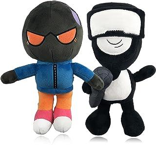 Sponsored Ad - Friday Night Funkin Merch Plush,Tank Man and Whitty Plushies Soft Stuffed Toy,Halloween for Kids,2Pcs ,10Inch