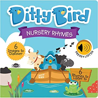 DITTY BIRD Our Best Interactive Nursery Rhymes Book for Babies. Illustrated Music Singing Board Book. Educational Musical ...