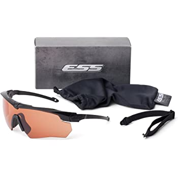 ESS Eyewear(イーエスエス アイウェア) Crossbow Suppressor ONE Kit 740-0472 ブラック US FREE-(FREE サイズ) [並行輸入品]