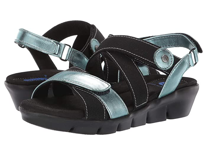 Wolky  Electra (Ice Blue) Womens  Shoes