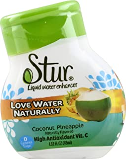 Stur, Mix Drink Coconut Water Pineapple, 1.28 Fl Oz