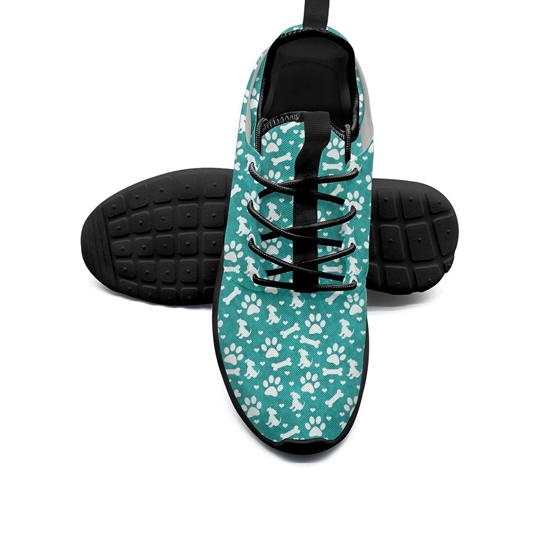 FUFGT Dog Paw Print Womens Printing Design Running Shoes Hunting Mini