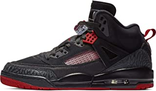 Nike Mens Air Jordan Spizike Basketball Shoes Black/Gym Red-Anthracite 315371-006 Size 9.5