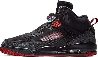 Nike Mens Air Jordan Spizike Basketball Shoes Black/Gym Red-Anthracite 315371-006 Size