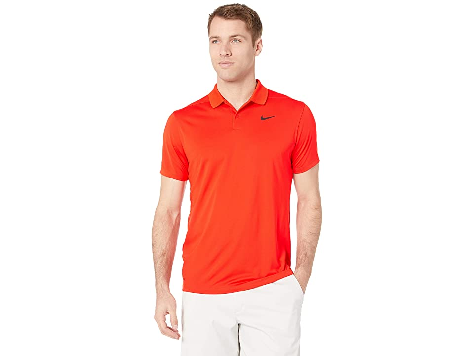 f64242cf Nike Golf Dri-FITtm Victory Polo (Habanero Red/Black) Men