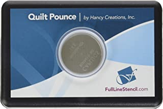 Hancy 2-Ounce Ultimate Quilt Pounce Pad with Chalk Powder, White