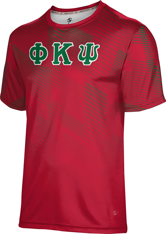 Overseas Factory outlet parallel import regular item ProSphere Phi Kappa Psi Men's T-Shirt Bold Performance DA665